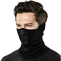 TSLA Unisex (Pack of 1, 2) Lightweight Neck Gaiter, UPF 50+ Protection Face Mask for 4-season Outdoor Sports Windproof