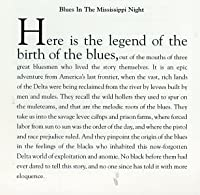 Blues in the Mississippi Night by Alan Lomax (1991-07-13)