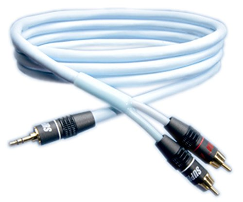SUPRA/スープラ SUPRA Biline-MP-1.0M 高音質ステレオミニ-RCAオーディオケーブル
