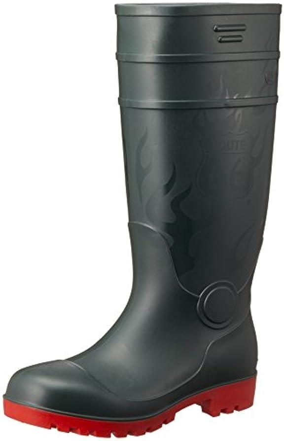 ワーディアンケース初期ボール[フジテブクロ] 安全長靴 ルート66 耐油底 抗菌 防臭 PVC 66-80