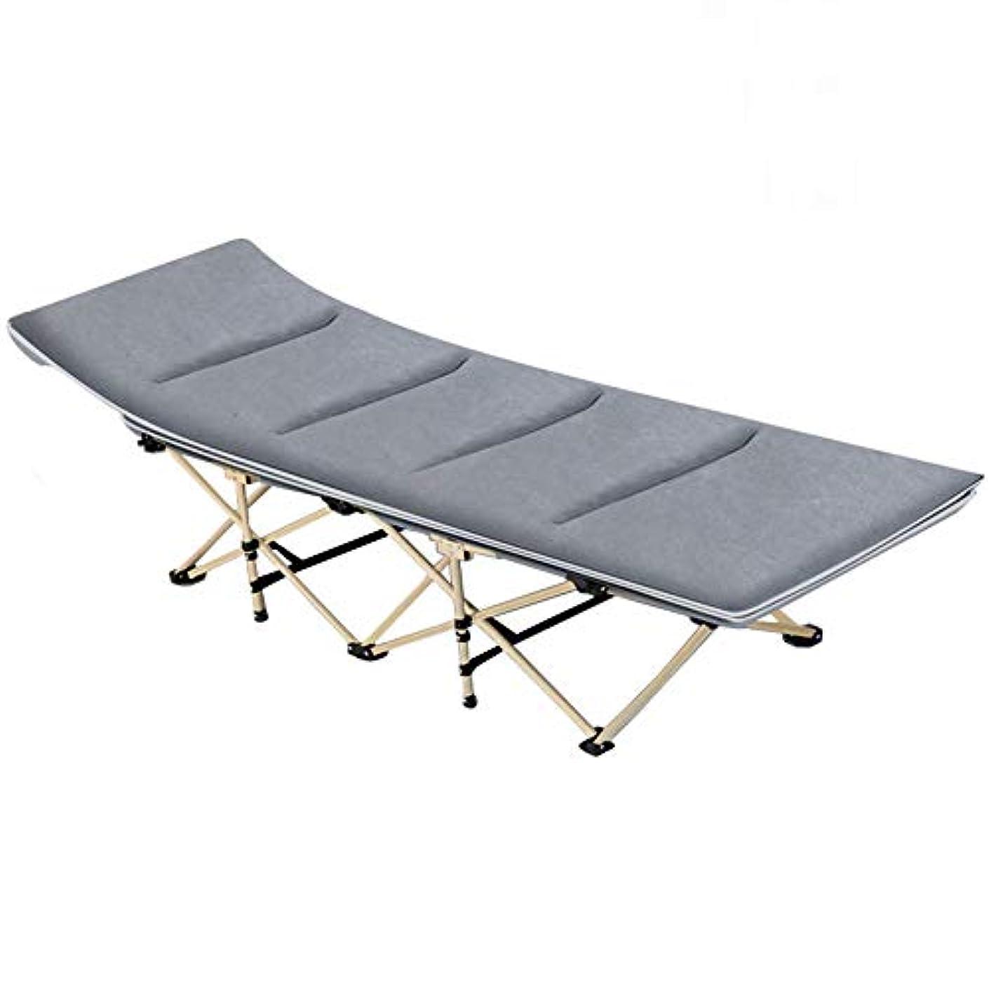飼料聖歌かんがいポータブル折り畳み式ベッド(マットレス付き)3Dピローマルチファンクションオフィスナップシングルベッド病院無料ランチブレイク