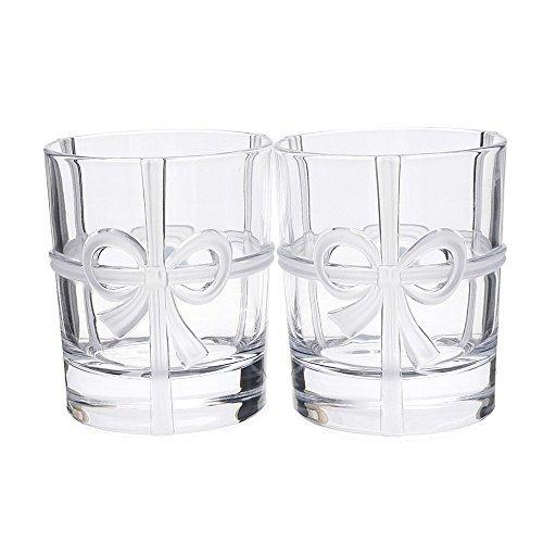 TIFFANY&CO.(ティファニー) ボウ グラス 2個セ...
