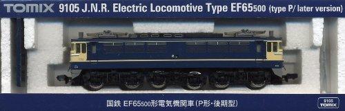 TOMIX Nゲージ 9105 国鉄 EF65-500形電気機関車 (P形・後期型)