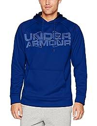 (アンダーアーマー)UNDER ARMOUR アーマーフリースグラフィックプルオーバーフーディー(トレーニング/パーカー/MEN)[1313503]