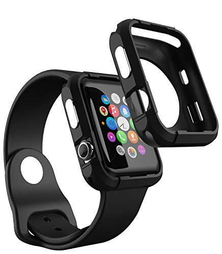 [해외]Apple Watch Series 3 케이스 (42mm) iDudu Apple Watch Series 3 &  Apple Watch Series 2 &  Apple Watch Series 1 커버 모든 애플 시계 42mm 호환 가능/Apple Watch Series 3 Case (42 mm) iDudu Apple Watch Series 3 &  Apple Watch Series 2 &...