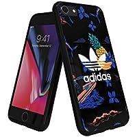 【アディダス公式ライセンスショップ】アディダスオリジナルス iPhone6/6S/7/8ケース アイランドシリーズ TPUケース ブラック [adidas Originals Beach Snap Case iPhone 6/6S/7/8]
