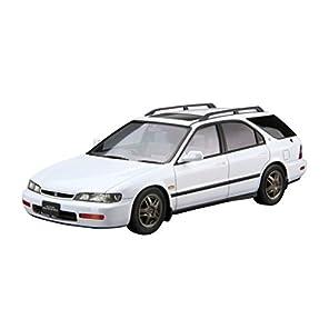 青島文化教材社 1/24 ザ・モデルカーシリーズ No.76 ホンダ CF2 アコードワゴンSiR 1996 プラモデル