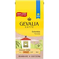 Gevalia Colombia Ground Coffee, 12 oz Bags (Pack of 6)