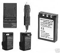 バッテリー+充電器for Sanyo Xacti dscaz3、Sanyo dscaz3ex、Sanyo dscj1