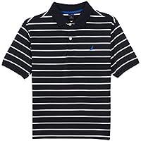 Nautica Little Boys Short Sleeve Solid Polo