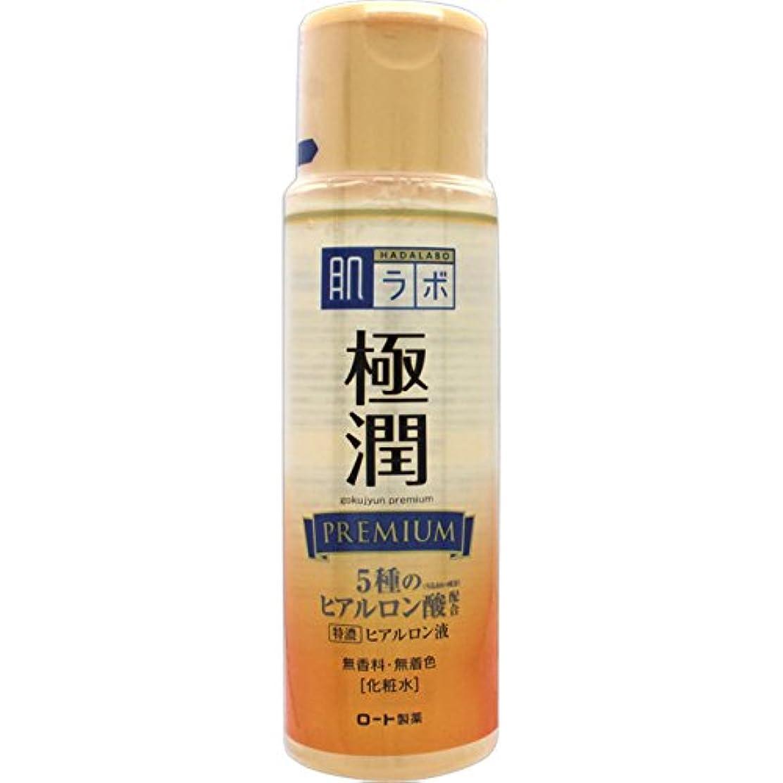 マーク簡単な下に向けます肌ラボ 極潤プレミアム 特濃ヒアルロン酸 化粧水 ヒアルロン酸5種類×サクラン配合 170mL