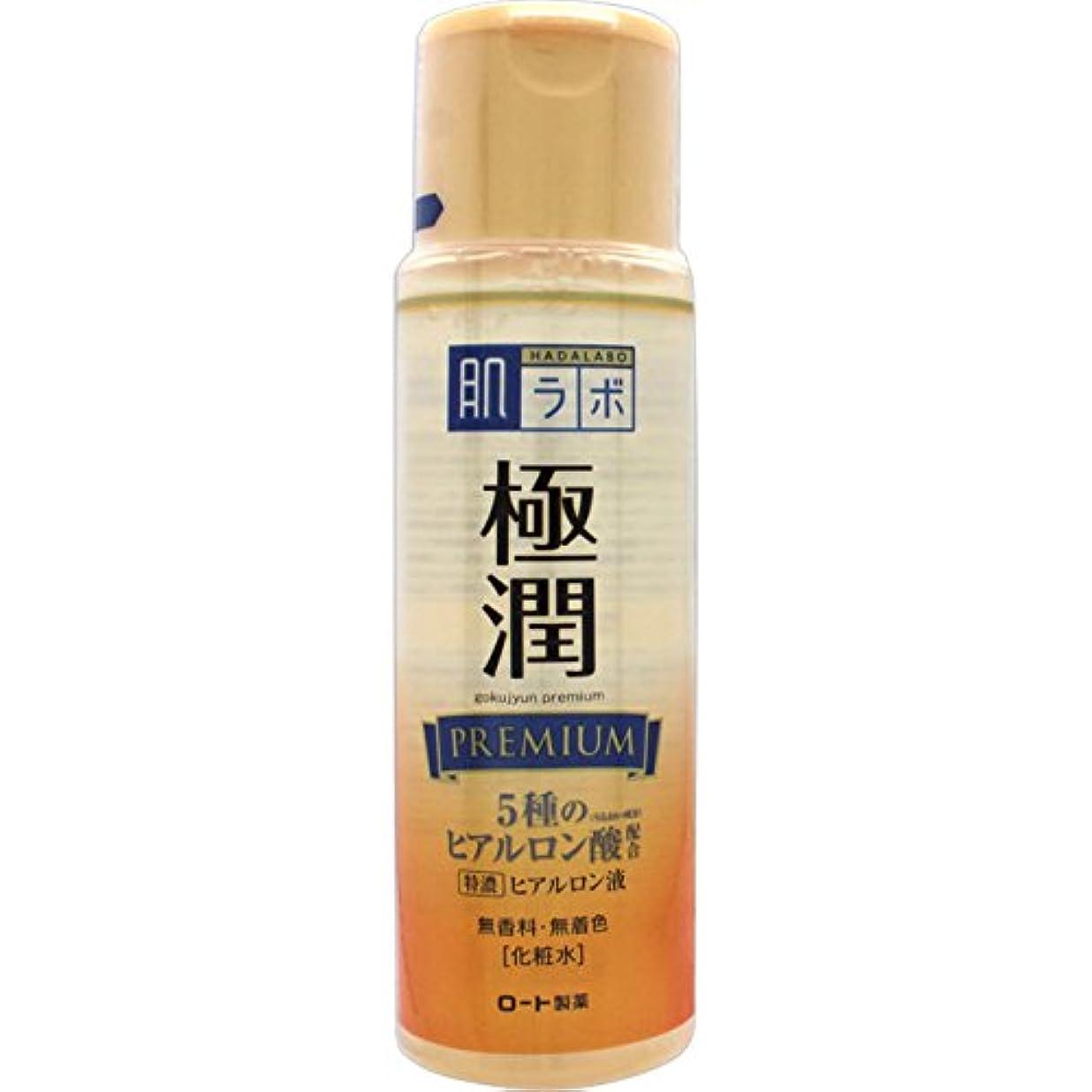 品揃え美的ナビゲーション肌ラボ 極潤プレミアム 特濃ヒアルロン酸 化粧水 ヒアルロン酸5種類×サクラン配合 170mL