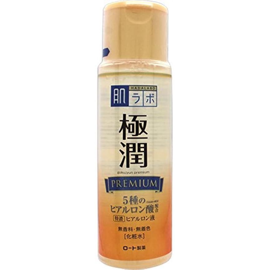 落花生段階ネックレット肌ラボ 極潤プレミアム 特濃ヒアルロン酸 化粧水 ヒアルロン酸5種類×サクラン配合 170mL