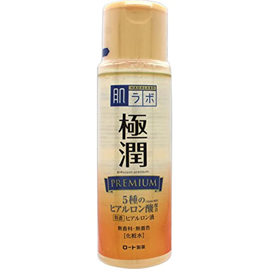 パラメータ十分ではない無法者肌ラボ 極潤プレミアム 特濃ヒアルロン酸 化粧水 ヒアルロン酸5種類×サクラン配合 170mL