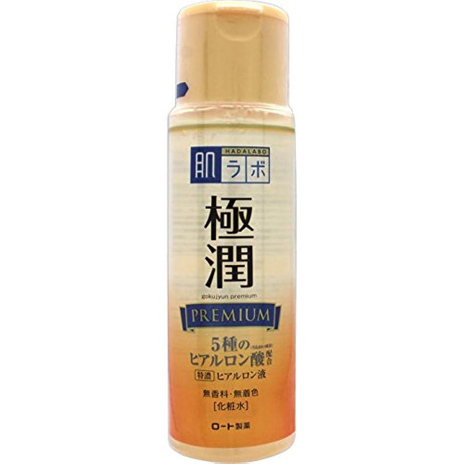 ズボンしなやか浸透する肌ラボ 極潤プレミアム 特濃ヒアルロン酸 化粧水 ヒアルロン酸5種類×サクラン配合 170mL