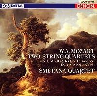モーツァルト:弦楽四重奏曲第19番 by スメタナ四重奏団 (2005-12-21)