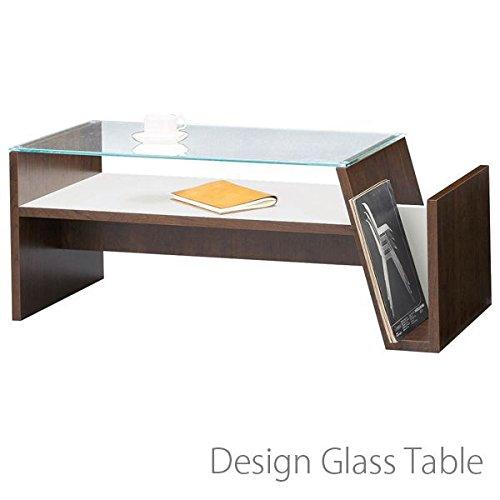 ガラス テーブル( センターテーブル ガラステーブル 机 リビングテーブル モダン お洒落 デザイン )