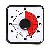 Precious Time タイマー 勉強 タイムタイマー キッチンタイマー 60分 子供 学習用 アラーム 幼児教育 知育 時間管理