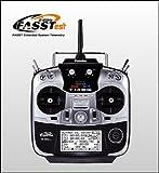 FUTABA 14SG ヘリ用 送信機単品(Ni-MH電池仕様) モード1=右スロットル仕様 FASSTest&FASST&S-FHSS対応