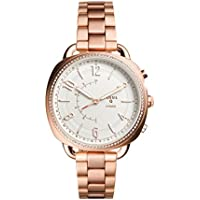 Fossil Women's FTW1208 Q Accomplice Smart Quartz Rose Gold-Tone Smartwatch