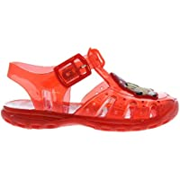 Character Wear Minnie Mouse Water Jelly Sandals Infants Girls Red Flip Flop Thongs Beach Shoes