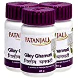 Patanjali Giloy Ghan Vati - 60 Tablets Pack of 3