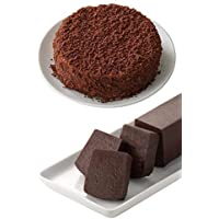 ルタオ (LeTAO) チョコレートケーキ ベストセラー ショコラセット(ショコラドゥーブル+サンサシオンハーフ 、各一個入り) バレンタインデー