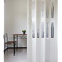 窓付パネルドア Lumie ルミエ 幅100cm×高さ205cm 木目アンティークホワイト