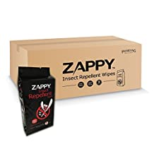 Zappy Insect Repellent Wipes,160 ct