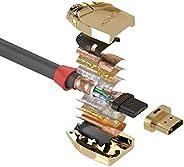 LINDY 15m スタンダードHDMIケーブル Goldライン(型番:37867)