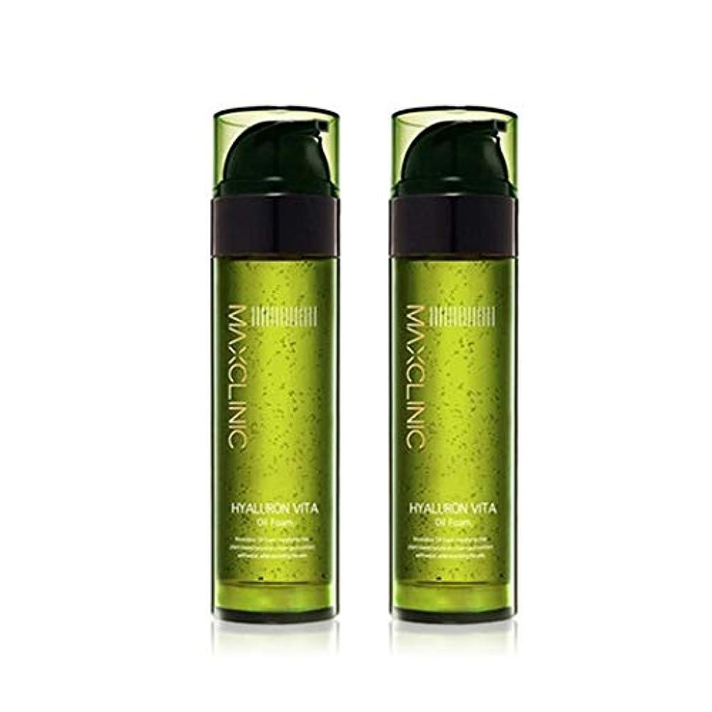 フルーティー枯渇する立方体マックスクリニックヒアルロンヴィータオイルフォーム110gx2本セット韓国コスメ、Maxclinic Hyaluronic Acid Vita Oil Foam 110g x 2ea Set Korean Cosmetics...