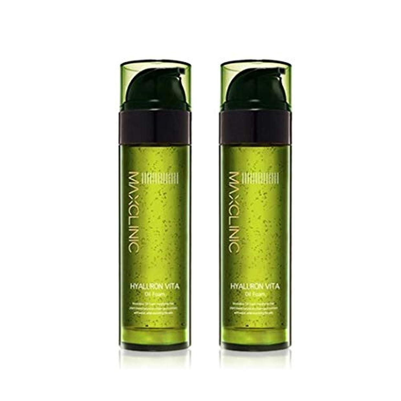 衝突コーススカイ出撃者マックスクリニックヒアルロンヴィータオイルフォーム110gx2本セット韓国コスメ、Maxclinic Hyaluronic Acid Vita Oil Foam 110g x 2ea Set Korean Cosmetics...