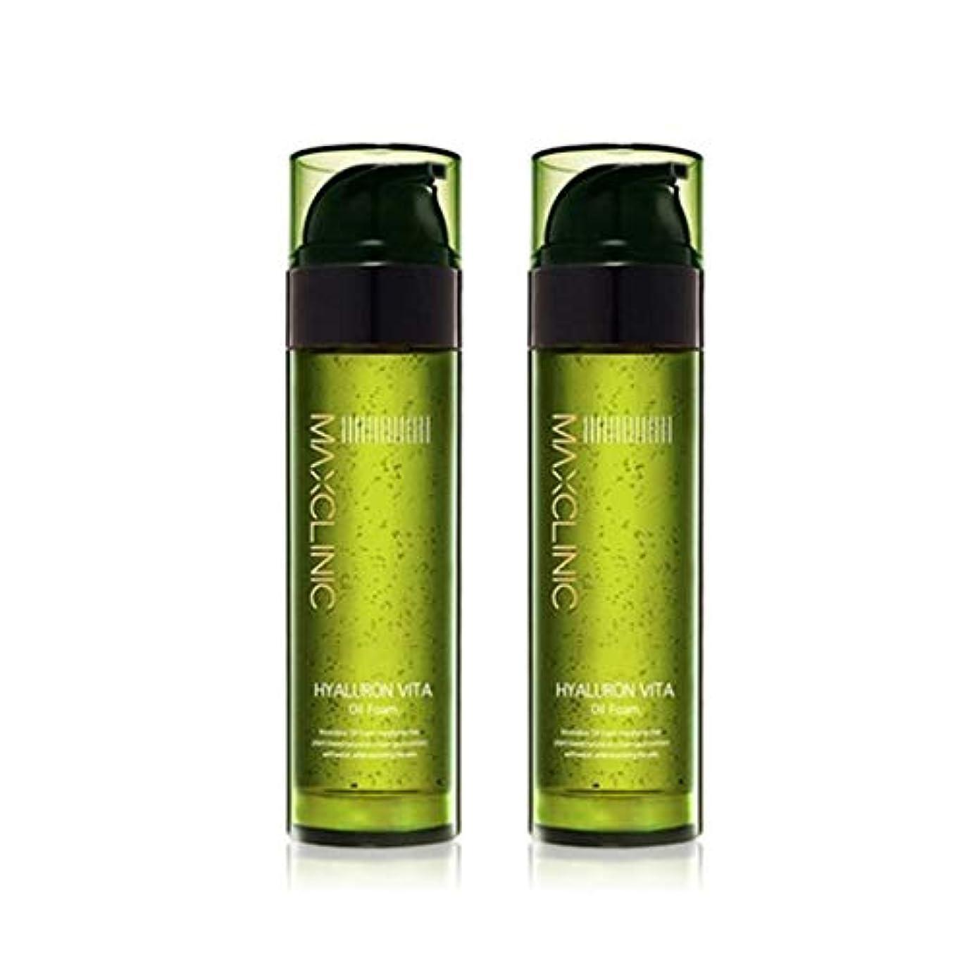 ロック解除作家フルーツ野菜マックスクリニックヒアルロンヴィータオイルフォーム110gx2本セット韓国コスメ、Maxclinic Hyaluronic Acid Vita Oil Foam 110g x 2ea Set Korean Cosmetics...