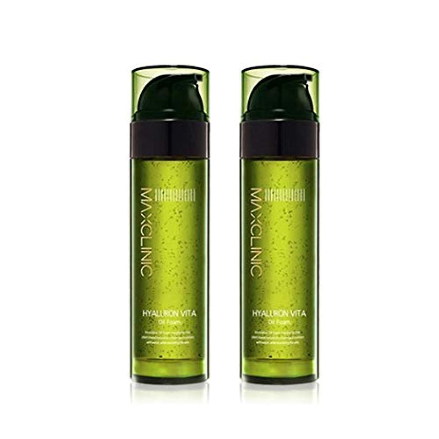 イル下位アシスタントマックスクリニックヒアルロンヴィータオイルフォーム110gx2本セット韓国コスメ、Maxclinic Hyaluronic Acid Vita Oil Foam 110g x 2ea Set Korean Cosmetics...