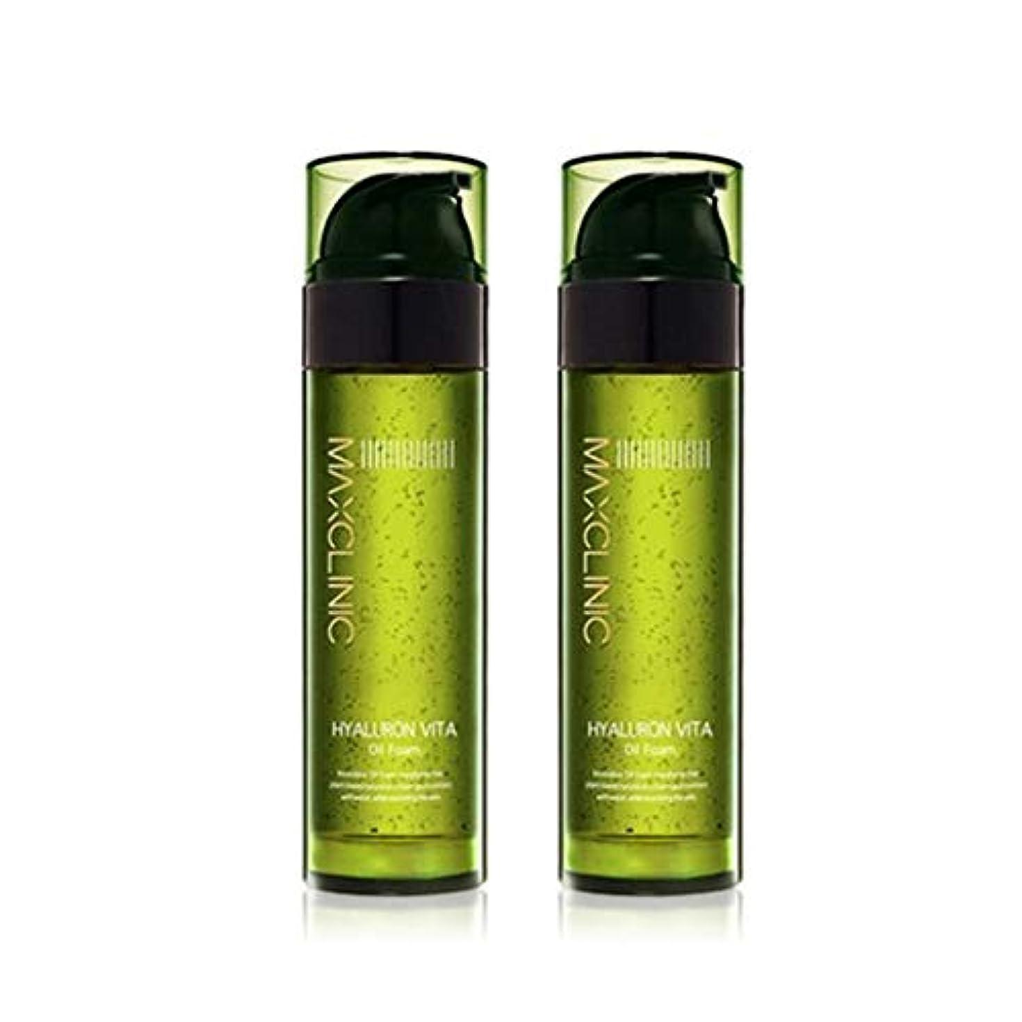 誠意私達貯水池マックスクリニックヒアルロンヴィータオイルフォーム110gx2本セット韓国コスメ、Maxclinic Hyaluronic Acid Vita Oil Foam 110g x 2ea Set Korean Cosmetics...