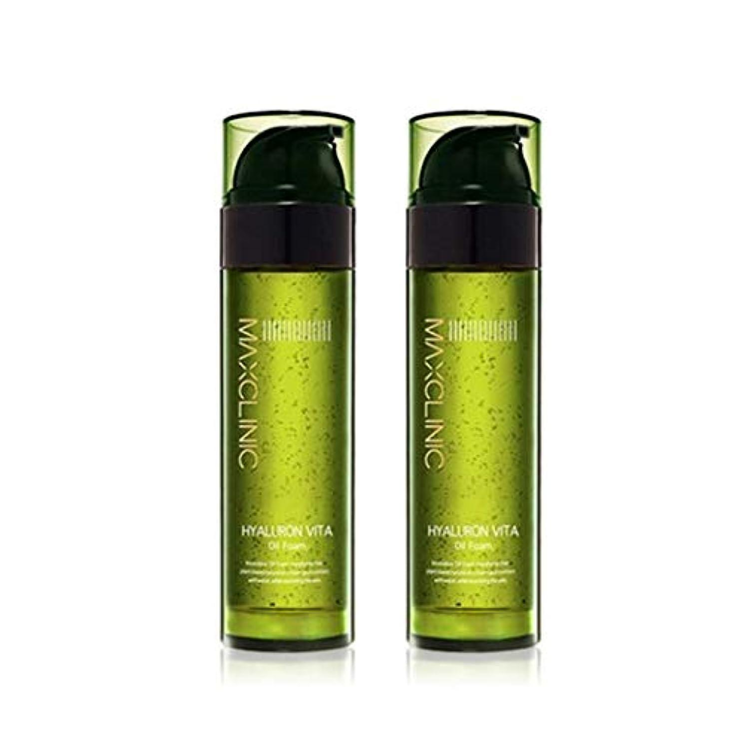 シーズン結婚したアメリカマックスクリニックヒアルロンヴィータオイルフォーム110gx2本セット韓国コスメ、Maxclinic Hyaluronic Acid Vita Oil Foam 110g x 2ea Set Korean Cosmetics...