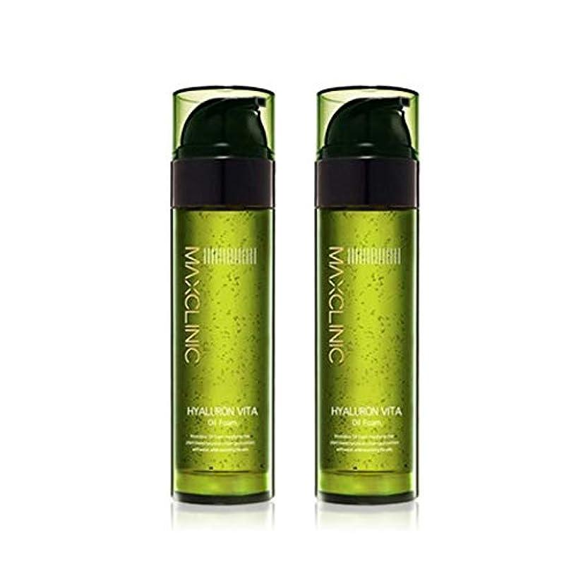 時間とともにスプーンステッチマックスクリニックヒアルロンヴィータオイルフォーム110gx2本セット韓国コスメ、Maxclinic Hyaluronic Acid Vita Oil Foam 110g x 2ea Set Korean Cosmetics...
