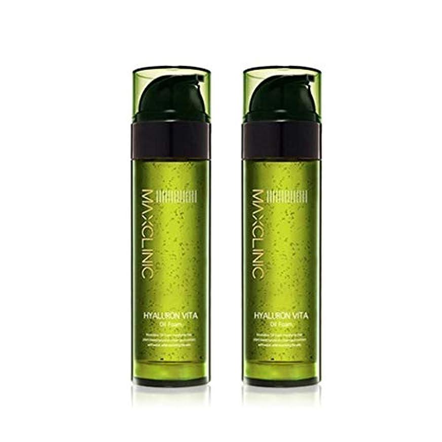 家禽規制する前進マックスクリニックヒアルロンヴィータオイルフォーム110gx2本セット韓国コスメ、Maxclinic Hyaluronic Acid Vita Oil Foam 110g x 2ea Set Korean Cosmetics...