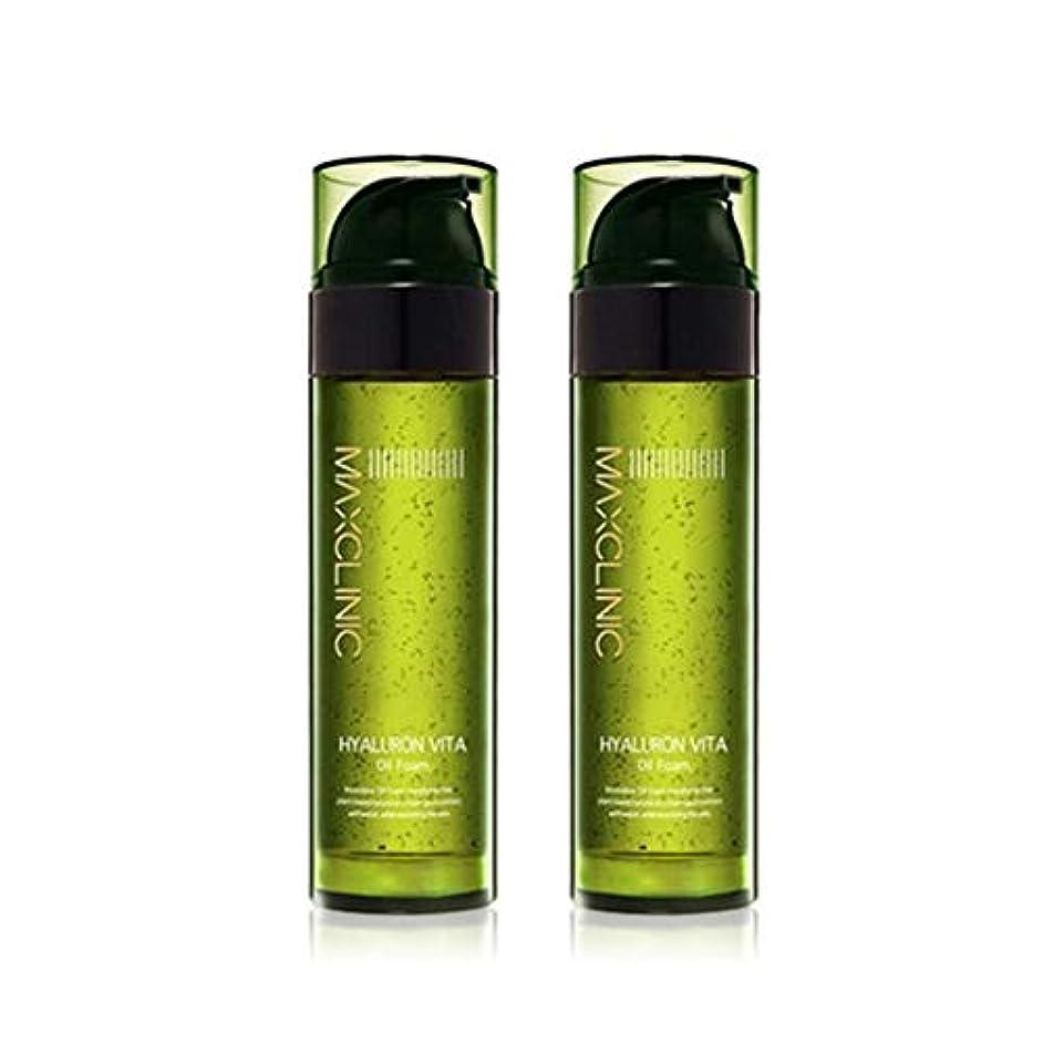 国自我祈りマックスクリニックヒアルロンヴィータオイルフォーム110gx2本セット韓国コスメ、Maxclinic Hyaluronic Acid Vita Oil Foam 110g x 2ea Set Korean Cosmetics...