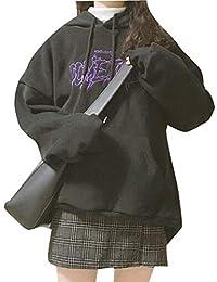 Remhop パーカー レディース 春秋スウェット大きいサイズ プリント長袖 カジュアル ゆったり 通勤 通学 カジュアル 人気 パーカー 裏起毛 おしゃれ かわいい きれいめ