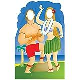Luau Hawaiian Couple Stand-In ルアウハワイアンカップルスタンドイン?ハロウィン?クリスマス?