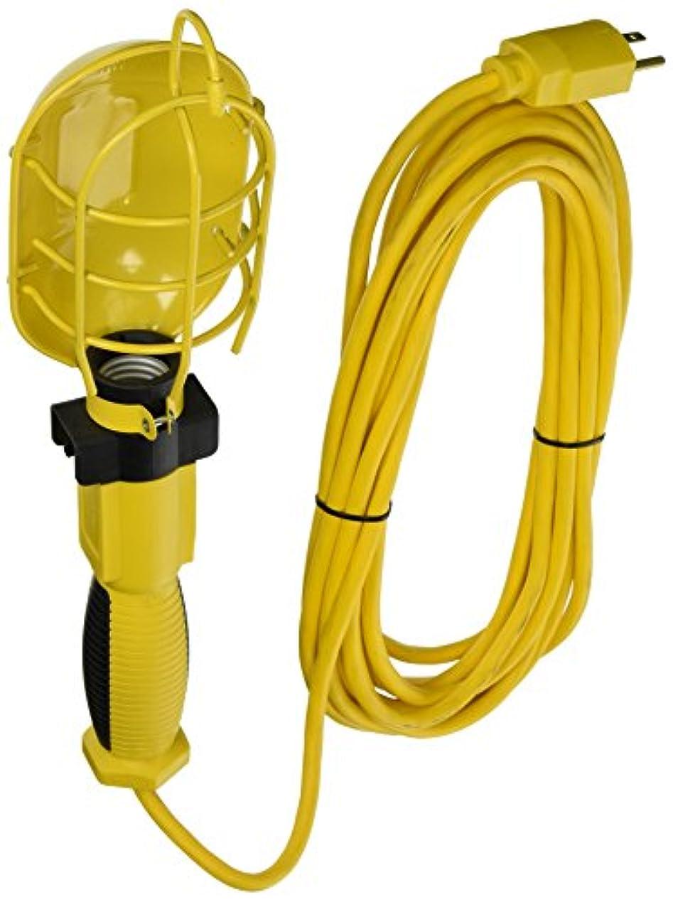 腐敗先に極めてAmerican Contractor 5897 25-Feet 16/3 Coiled Extension Cord Trouble Light, Black by American Contractor