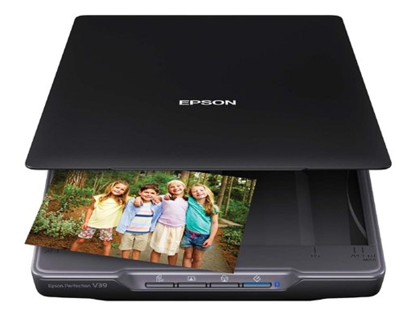 コンペ町花に水をやるEpson Perfection V39 - Flatbed scanner - Letter - 4800 dpi x 4800 dpi - USB 2.0