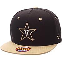 (Vanderbilt Commodores, Adjustable Size, Black/Team Color) - Youth Z11 Phantom Snapback Hat