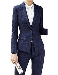 激情女郎 レディース セットスーツ OL オフィス 就活 ビジネス 通勤 リクルート 事務服 長袖 パンツスーツ チェック