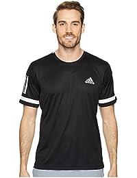(アディダス) adidas メンズタンクトップ・Tシャツ Club 3-Stripes Tee
