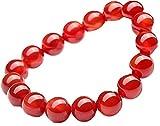天然石 高品質 レッドアゲート 赤メノウ 赤瑪瑙 浄化用さざれ パワーストーン ブレスレット 恋愛運 幸運 運気アップ お守り