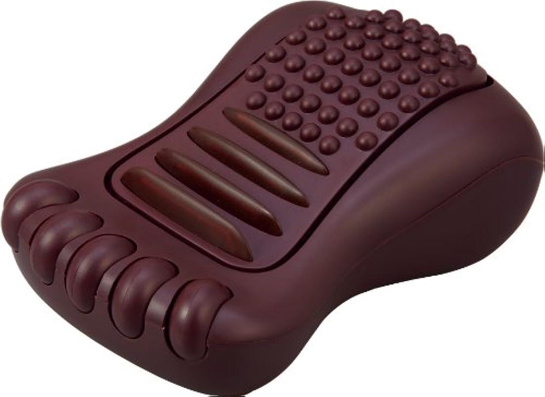 呼びかけるコンピューターを使用する欠陥ラドンナ TOFFY 足裏リラクゼーション ショコラブラウン TF44-FR-CBR