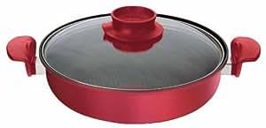 ティファール 両手鍋 「家 (おうち) なべ」 IH対応 スカーレット 26cm E41690
