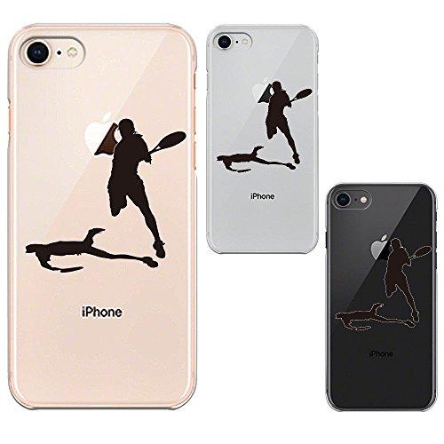 iPhone8 ワイヤレス充電対応 ハード クリア 透明 ケ...